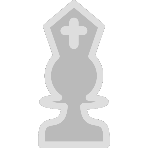 Chess Bishop White Piece PNG Clip art