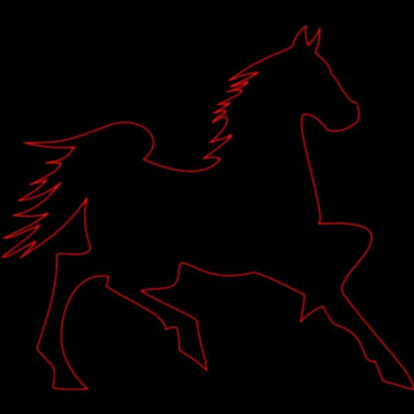 Fire Horse PNG Clip art