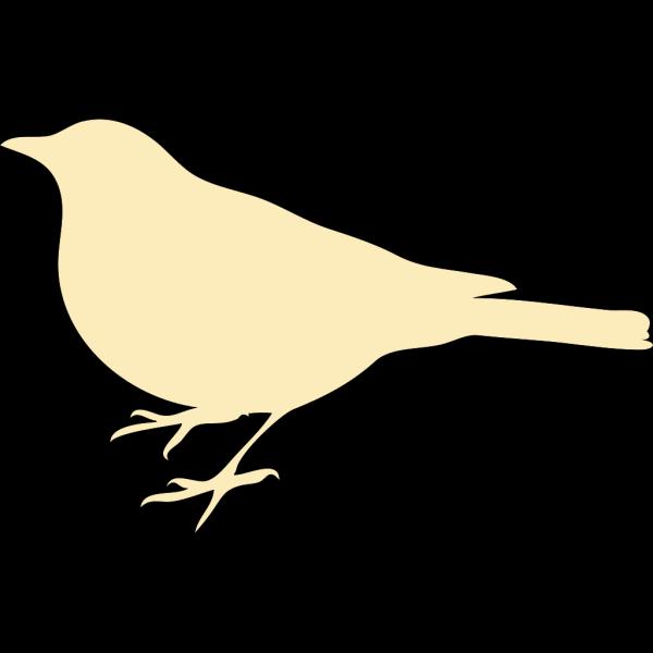 Cream Bird PNG Clip art