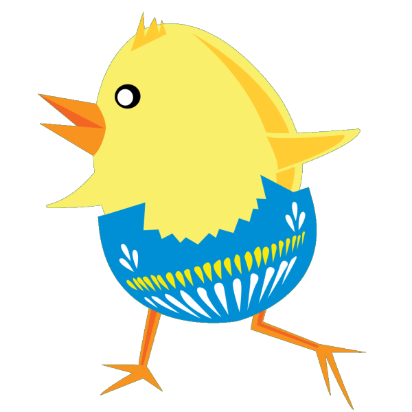 Easter Chicken  PNG Clip art