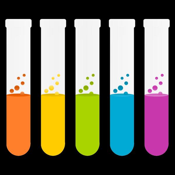 Chemistry Test Tubes PNG Clip art