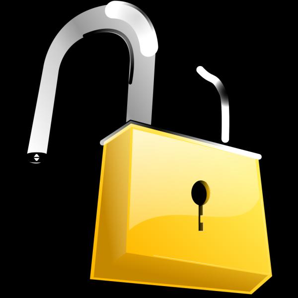 Open Lock PNG Clip art