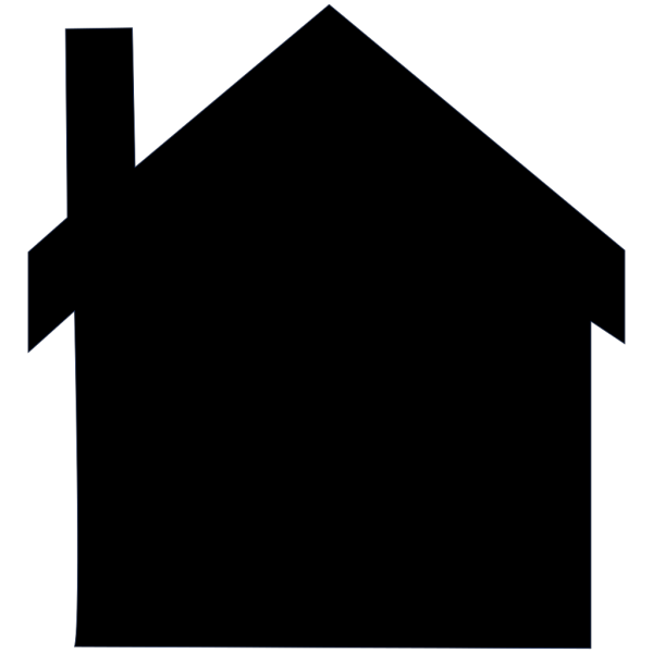 House Silhouette PNG Clip art