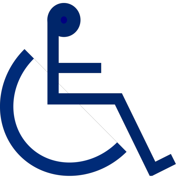 Wheelchair Sign 2 PNG Clip art