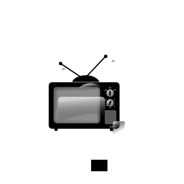 Old Television PNG Clip art