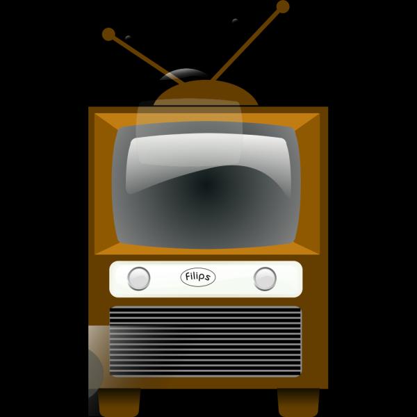 Antique Television PNG Clip art