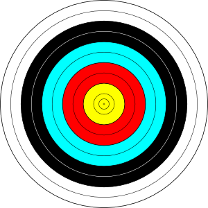 Archery Target PNG Clip art