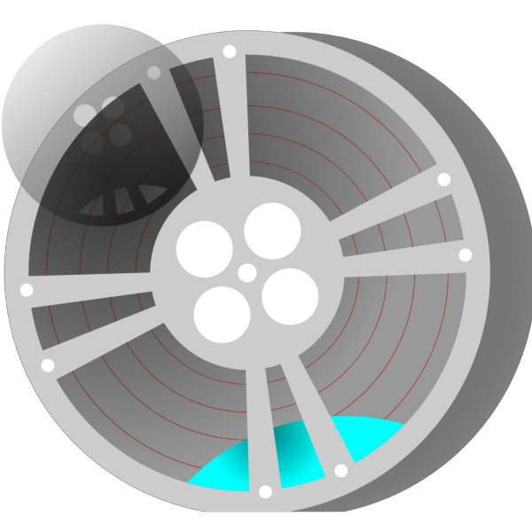 Video Film Reel PNG Clip art
