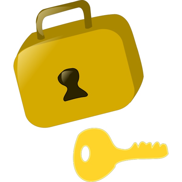 Lock And Key PNG Clip art