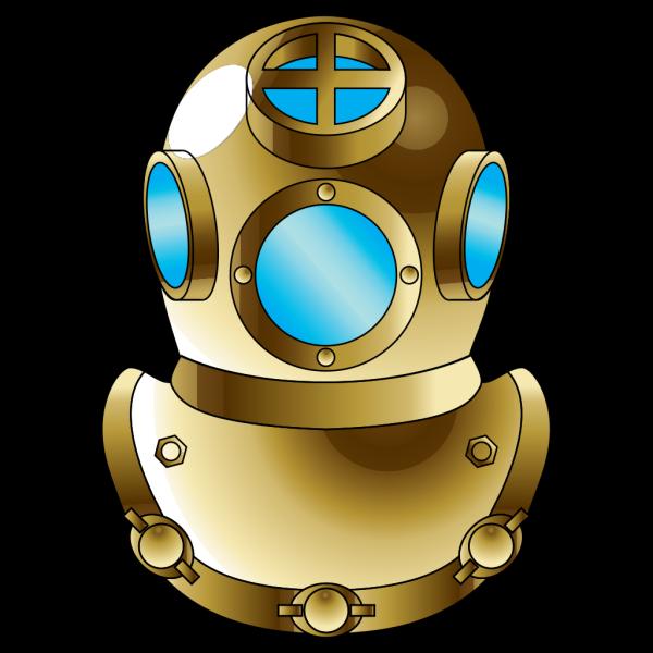 Deep Diver Helmet PNG Clip art