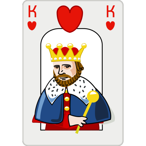 King Of Hearts PNG Clip art