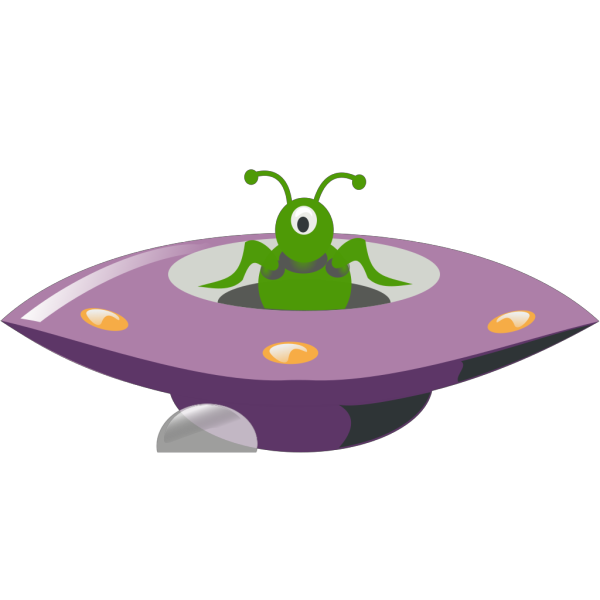 Ufo Cartoon PNG Clip art