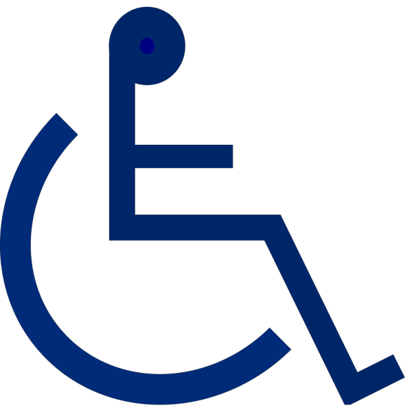 Wheelchair Sign PNG Clip art