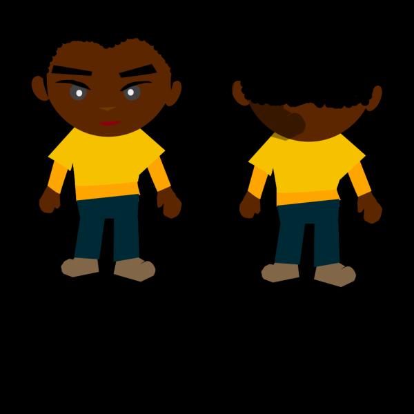 Ricardo Black Boy Png PNG Clip art