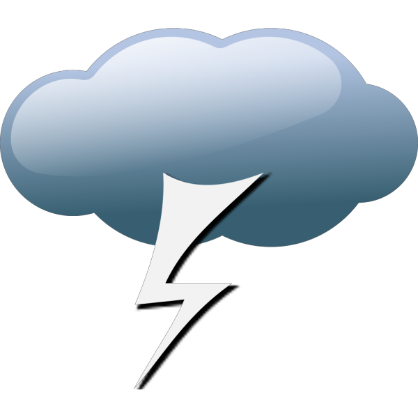 Thunderstorm Weather Symbols PNG Clip art