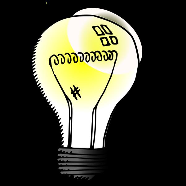 Incandescent Light Bulb PNG Clip art