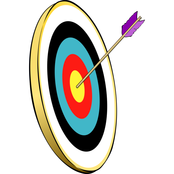 Arrow In The Gold PNG Clip art
