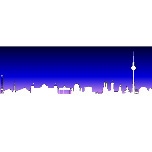Berlin Germany Skyline PNG Clip art