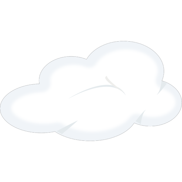 Set Of Soft Clouds PNG Clip art