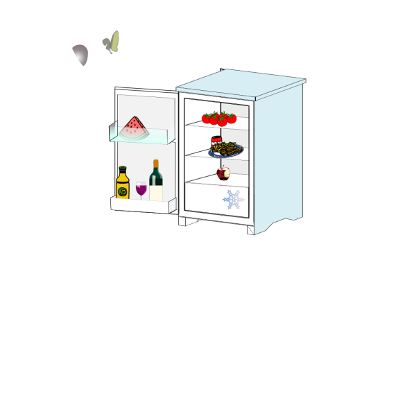 Fridge With Food Jhelebrant PNG images