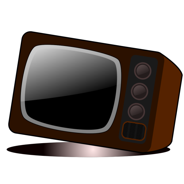 Old Television 2 PNG Clip art