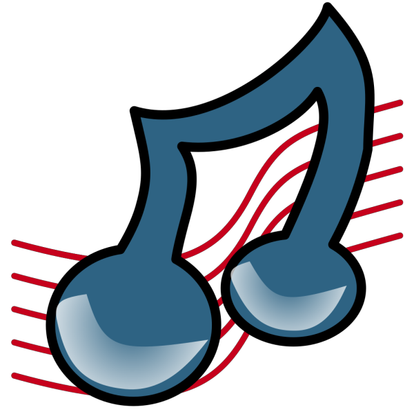 Musical Symbol Bold PNG Clip art