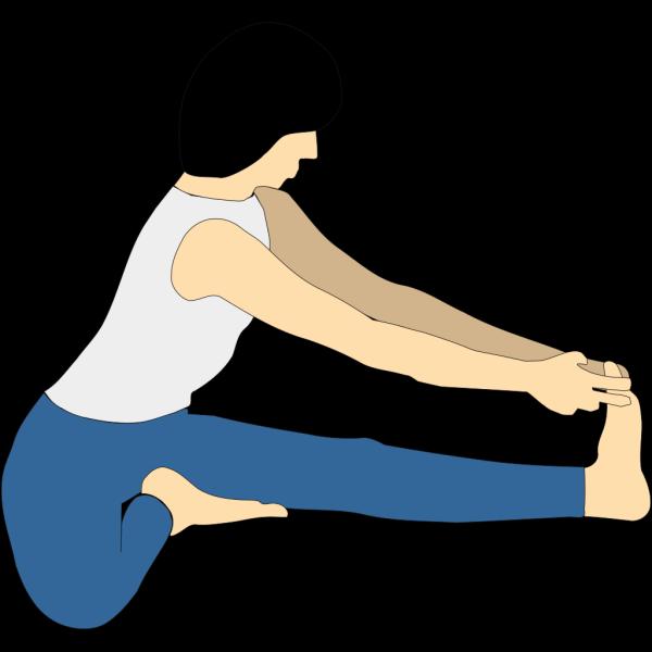 Yoga Position Maha Mudra PNG Clip art