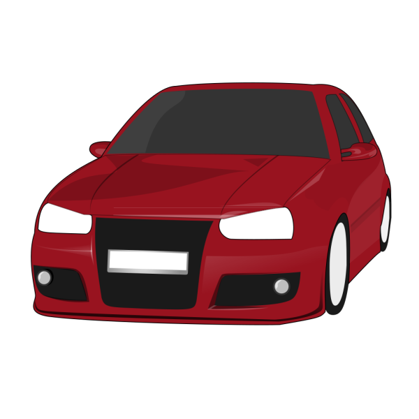 Volkswagen Golf Tuned Clip Art PNG Clip art