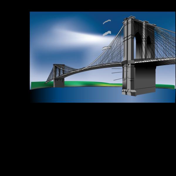 Brooklyn Bridge PNG Clip art