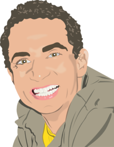 Business Man Smiling PNG Clip art