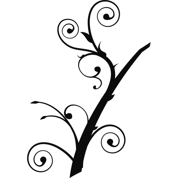 Twisted Branch 2 PNG Clip art