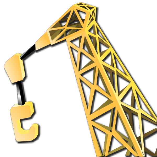 Equipment Crane PNG Clip art