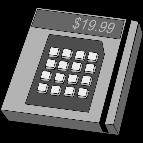 Credit Card Machine PNG Clip art