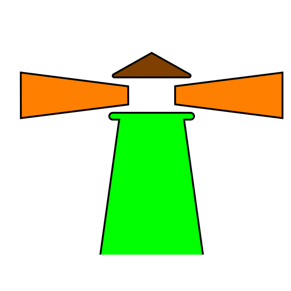 Blue Lighthouse PNG Clip art