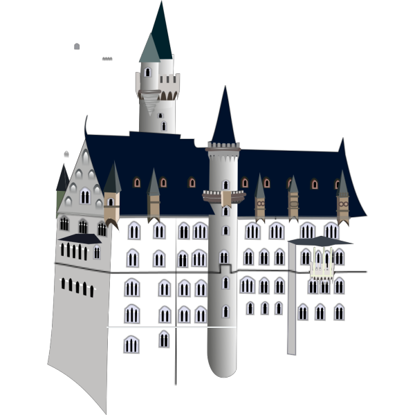 Neuschwanstein Castle PNG Clip art
