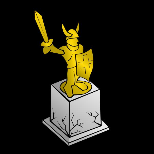 Odysseus Statue PNG Clip art