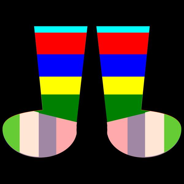 Clothing Rainbow Socks PNG Clip art