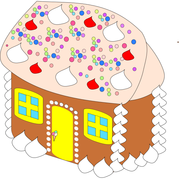 Sweet House PNG Clip art