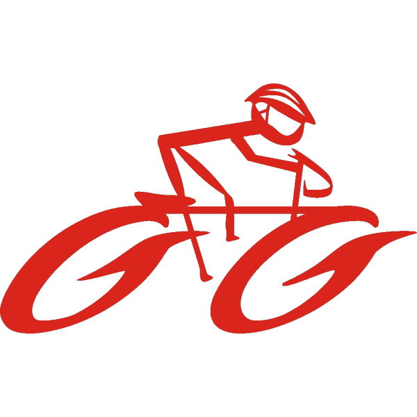 Cyclist On Bike PNG Clip art