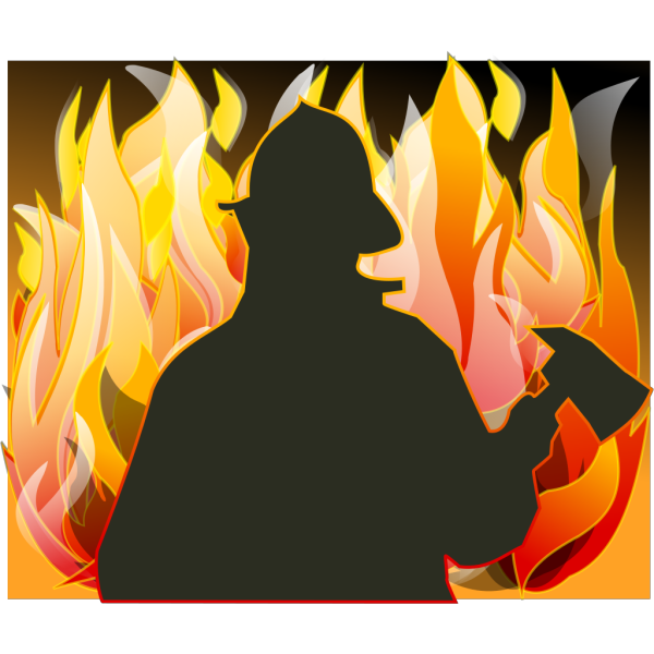 Fire Fighter PNG Clip art