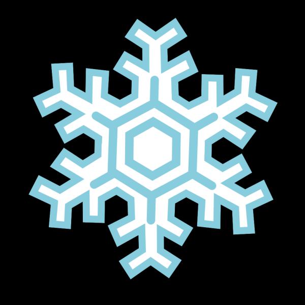 Stylized Snowflake PNG Clip art