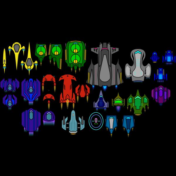 Erulisseuiin Spaceship Pack PNG images