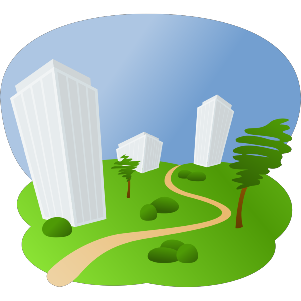 Buildings PNG icons