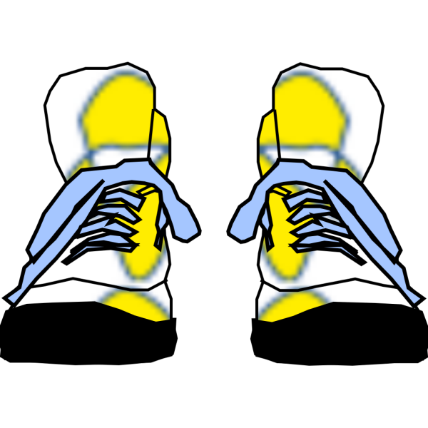 Hightop Sneakers PNG Clip art