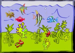 Underwater World - Aquarium PNG Clip art