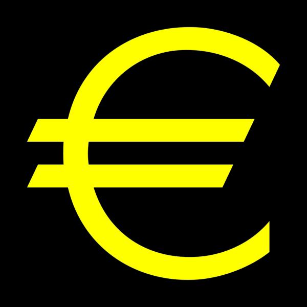 Euro Symbol PNG Clip art