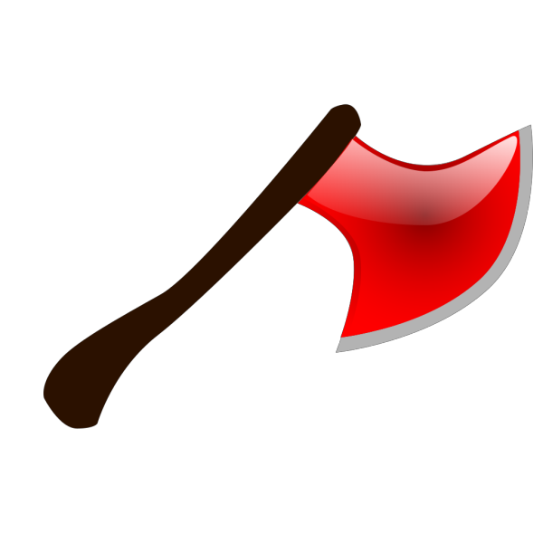 Red Axe PNG Clip art