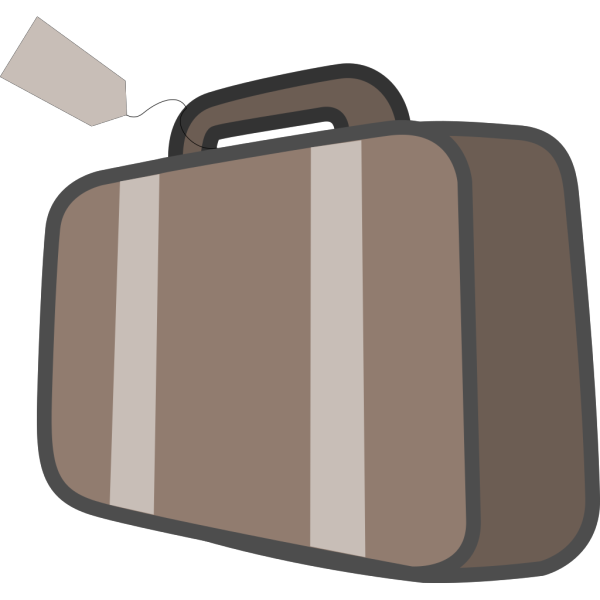 Bag Luggage Travel PNG Clip art