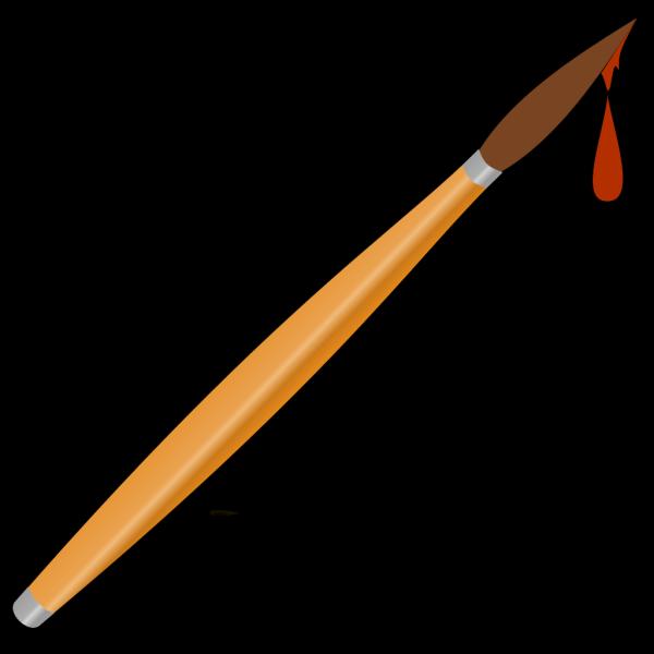 Paint Brush Drops PNG Clip art