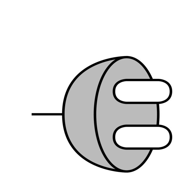 Plug 6 PNG Clip art